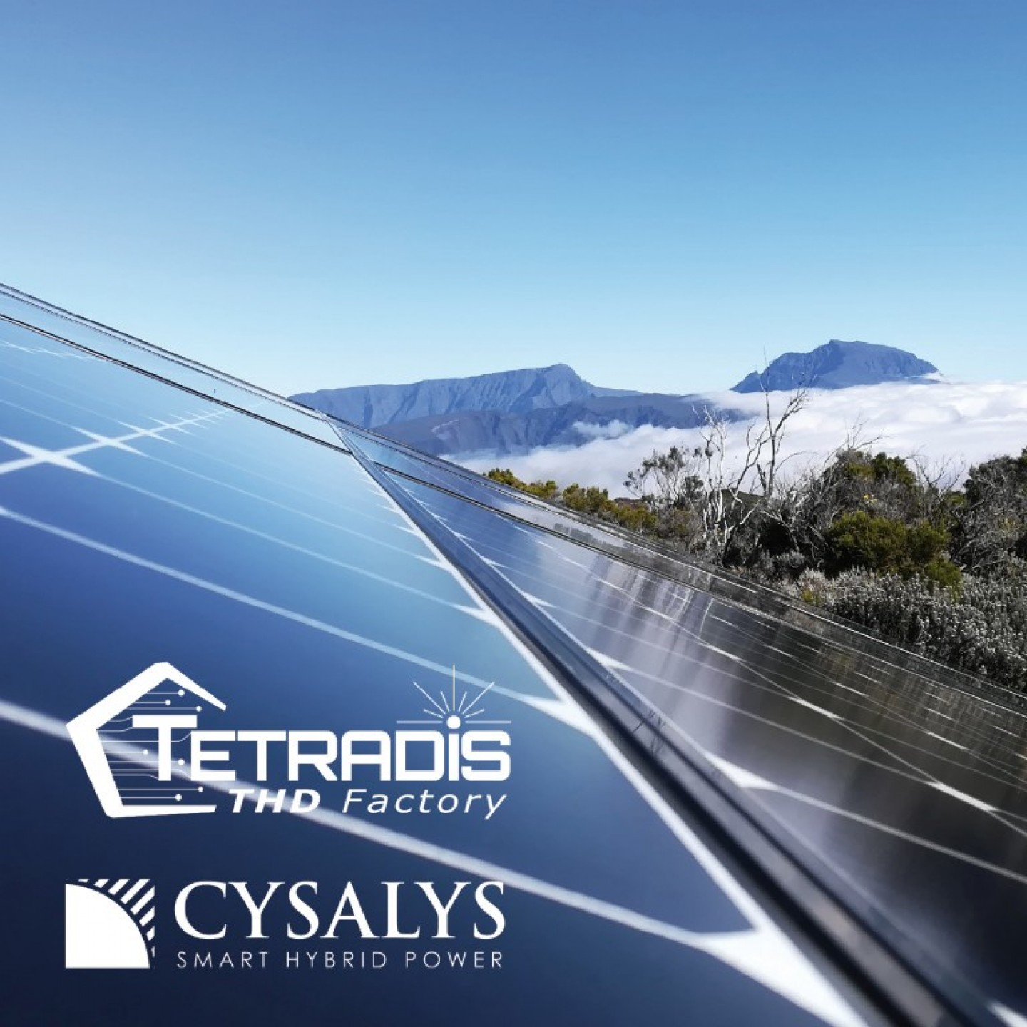 Solutions POWER by TETRADIS et CYSALYS